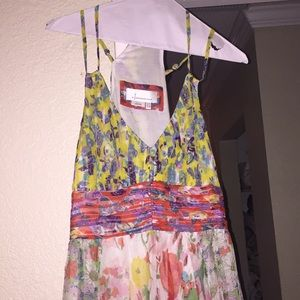Anthropologie Floral Maxi Dress